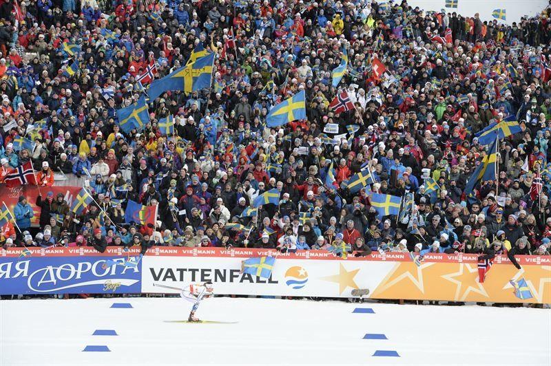 Vinsten för VM i Falun landade på 47 miljoner kronor före dispositioner och skatter. FOTO: Falun2015.