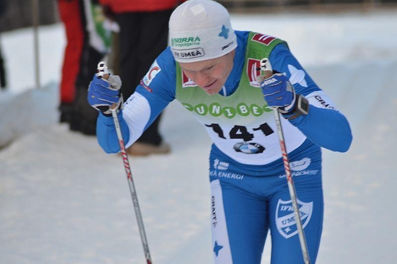 IFK Umeås Erik Silfver kan få chansen att visa upp sin speed på en stadssprint hemma i Umeå i vinter. FOTO: Johan Trygg/Längd.se.