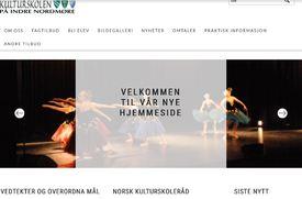 kulturskole ny hjemmeside