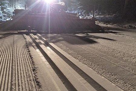 Fina spår vid Hagatorpet i Tranemo. Nu har man tilldelats Stora skidspårspriset. FOTO: Tranemo IF Skidklubb.