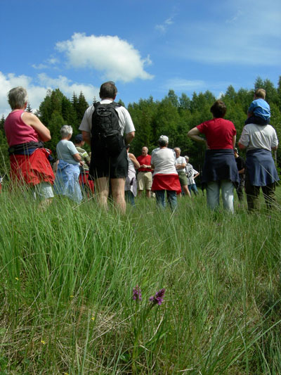 Orkidétur 2006. Foto: Else Nordhagen