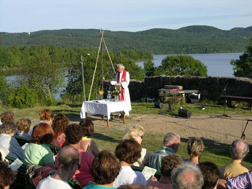 Olsokgudstjeneste 2005. Foto: Tor Øystein Olsen