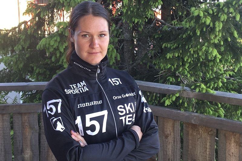 Britta Johansson Norgren Norgren är första gästen när Robin Bryntesson och Lars Ljung drar igång Skidpodd 157. FOTO: Lager 157 Ski Team.