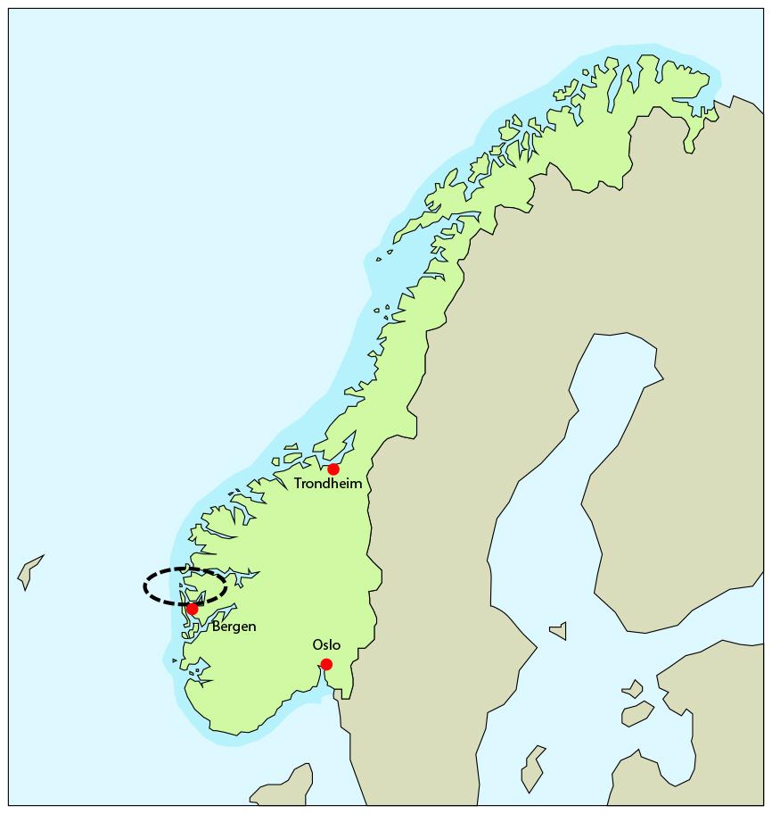 kart nordhordland Om Nordhordland Biosfæreområde   Nordhordland utviklingsselskap IKS kart nordhordland