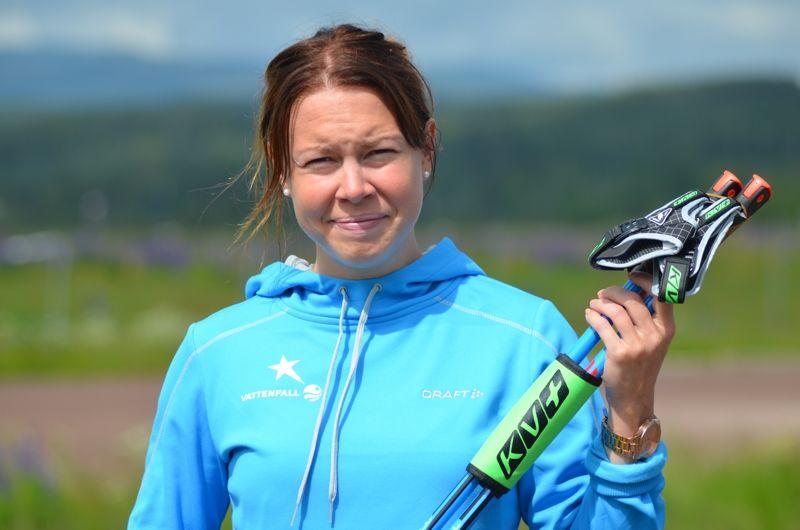 Emma Wikén byter stavar till KV+ inför kommande vinter. FOTO: Grönedals Sport.
