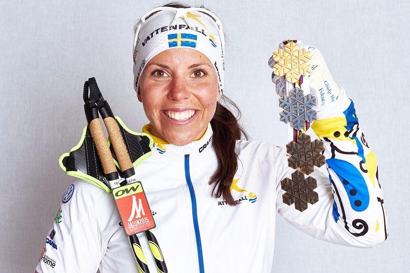 Charlotte Kalla är One Way:s storaaffischnamn i Sverige. Framöver har One Way egen distribution och försäljning i Sverige. FOTO: One Way.
