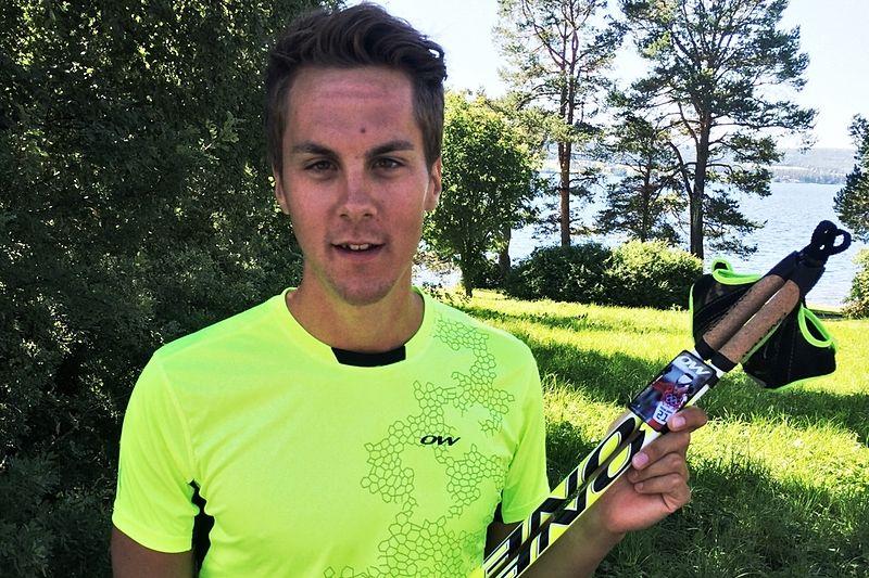 Göteborgaren Anton Lindblad, som bytt klubb från Sollefteå till Hudiksvalls IF, är tillbaka på Oneway stavar. FOTO: Oneway.
