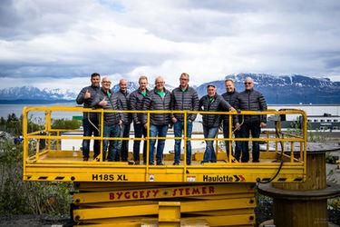 Ansatte i Byggesystemer Harstad