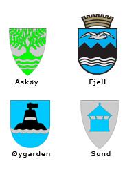 Bilde av logo til kommunene Askøy, Fjell, Øygarden og Sund