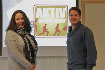 Gitte Westlund og Martin Framstad