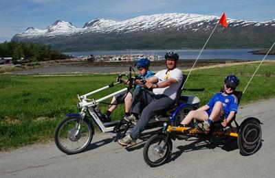 Aktivitetshjelpemiddel Sykkel