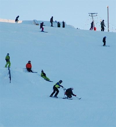 Sit -ski
