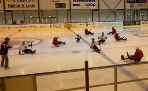 Kjelkehockey på Nærbø, Loen Idrettsanlegg