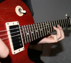 Bilde av en gitar