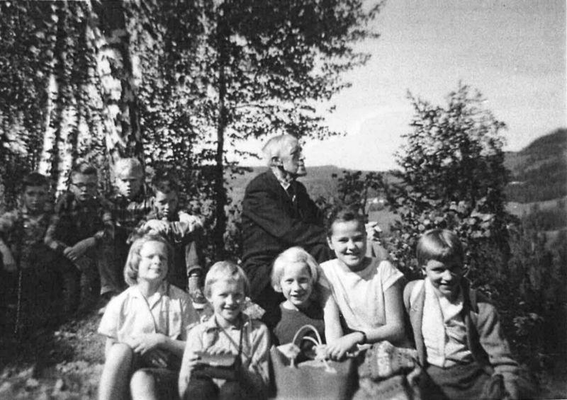 skoletur til Vardkampen 1960