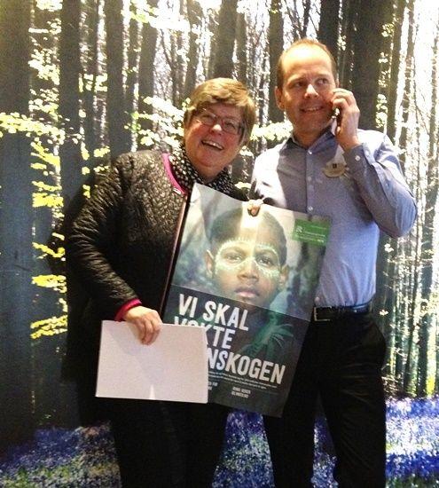 Mari Botterud og Erik Fostervold - TV-aksjonen 2015