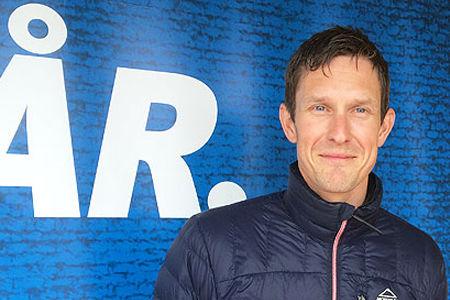 Johan Granath blir tränare för landslagets utvecklingslag tillsammans med Martina Höök. FOTO: Johan Trygg/Längd.se.