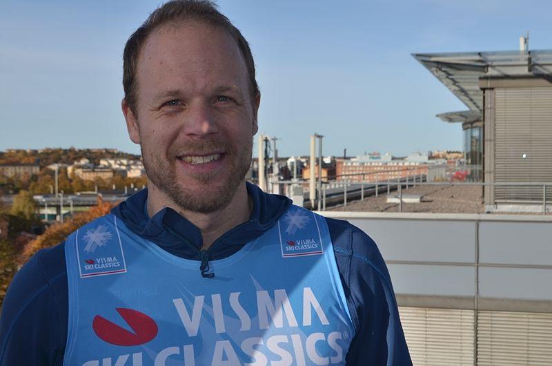 Daniel Tynell blir sportchef för 220 kilometer långa Nordenskiöldsloppet. FOTO: Johan Trygg/Längd.se.