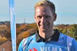 En hel och stark Daniel Richardsson ser fram emot Ski Classics-säsongen. FOTO: Johan Trygg/Längd.se.