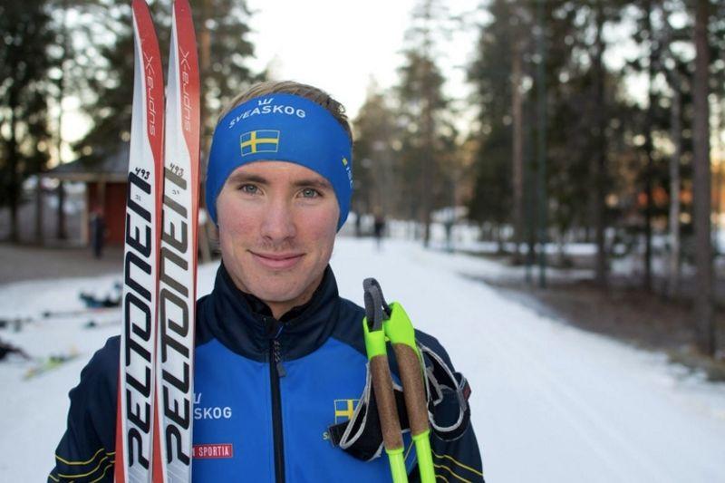 Umeå OK:s Ulrik Nordberg slog till med seger när skidorienterarna hade värlscuppremiär i Ylläs, Finland. FOTO: Privat.