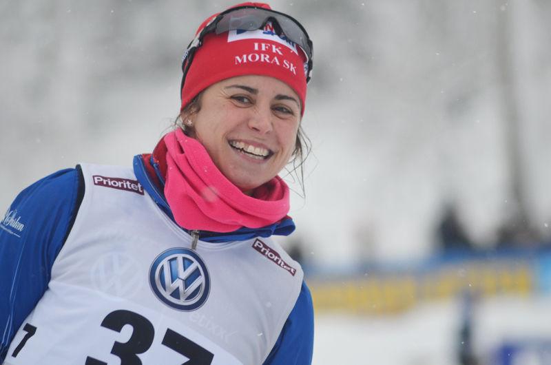 Anna Haag är tillbaka i landslagstruppen när världscupen rullar vidare i Lillehammer kommande helg. FOTO: Johan Trygg/Längd.se.
