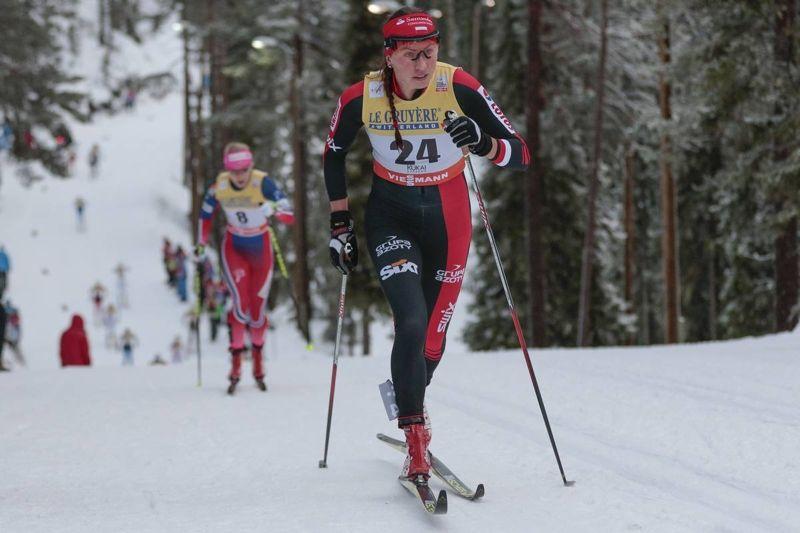 Det blir både världscup i Norge och Ski Classics i Italien för Justyna Kowalczyk i helgen. Här polskan vid gånga helgs tävlingar i Ruka, Finland. FOTO: Modica/NordicFocus.