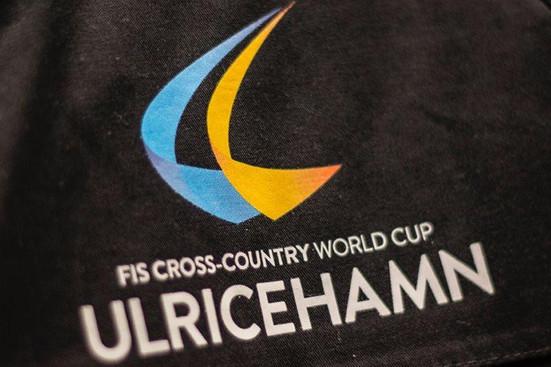 Så här ser logotypen ut världscupen i Ulricehamn. FOTO: FIS Cross-Country World Cup Ulricehamn.