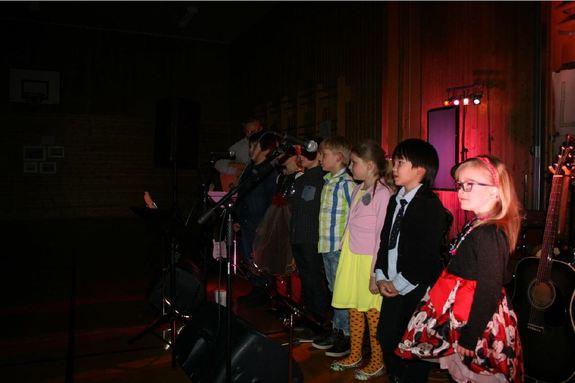 Førjulskonsert på Sørvær skole 11. desember 2015