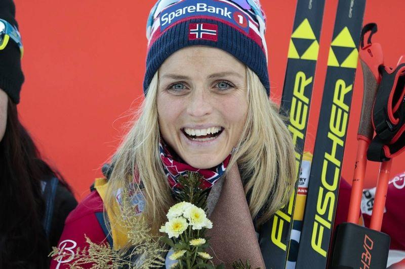 Therese Johaug är en av 17 norska åkare i Tour de Ski som startar på nyårsdagen. FOTO: Modica/NordicFocus.