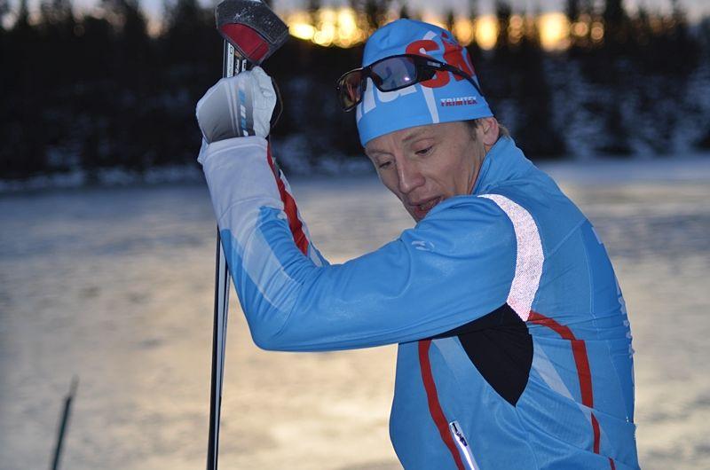 Oskar Svärd och Optima Ski genomför Vasaloppsläger i Ulricehamn. FOTO: Johan Trygg/Längd.se.