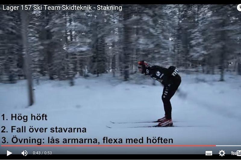 Goda tips för stakning från Lager 157 Ski Team:s åkare. FOTO: Video Lager 157 Ski Team.