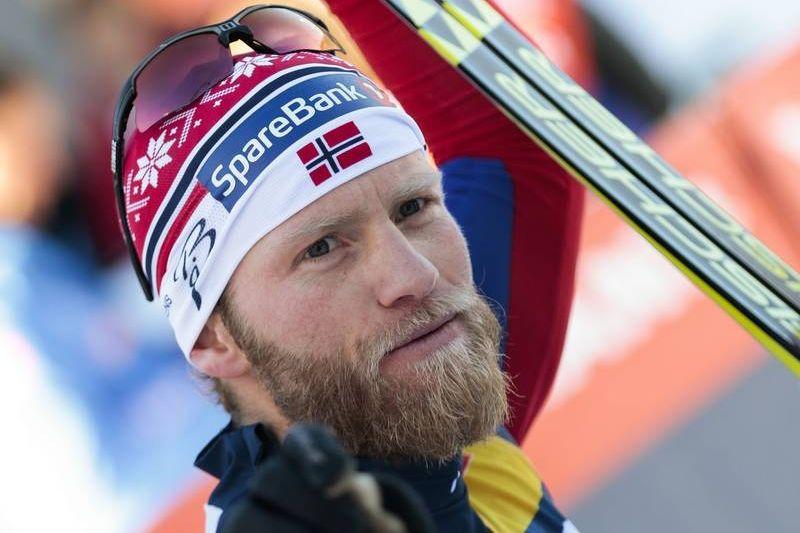 Martin Johnsrud Sundby vann näst sista Tour de Ski-etappen i Val di Fiemme närmast före Niklas Dyrhaug. FOTO: Modica/NordicFocus.