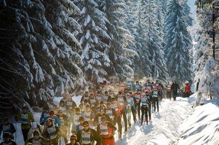 Jizerska kommer att köras 15 varv på en tuff slinga över totalt fem mil på söndag. FOTO: Vimsa Ski Classics.