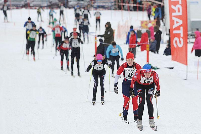 Arrangörerna av Tjejskidan for Life hoppas på upp emot 400 startande när loppet genomförs 23 januari. FOTO: Tjejskidan/Erik Bjernulf.