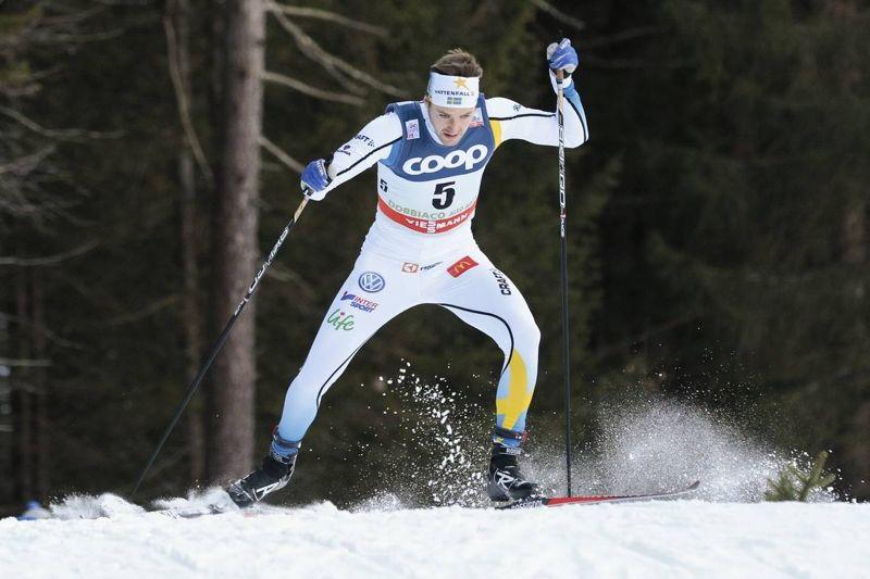 Teodor Peterson visade speed när han åkte in som fyra i sprintprologen i Planicia. FOTO: Modica/NordicFocus.