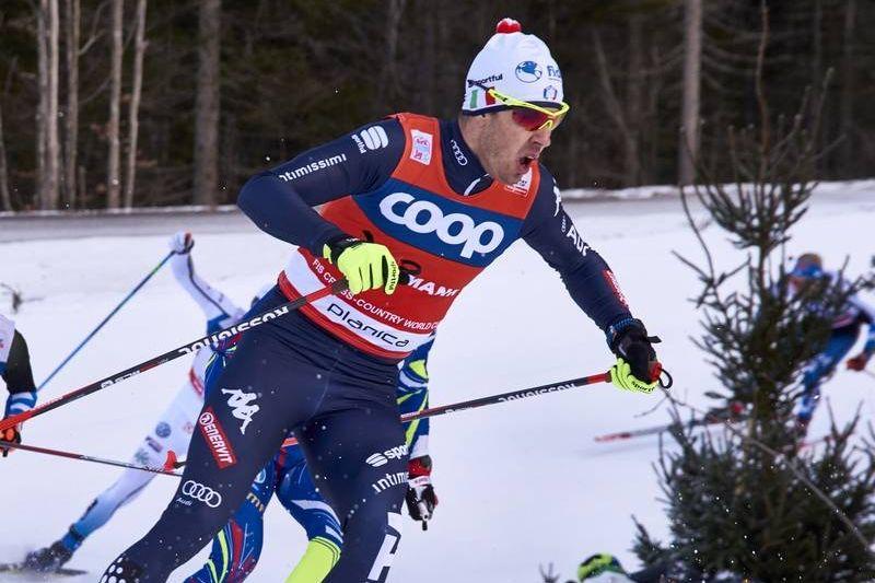 Vinterns sprintkung Federico Pellegrino åkte hem sprintstafetten i Planica till Italien. FOTO:  NordicFocus.