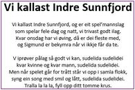 Vi kallast Indre Sunnfjord 1