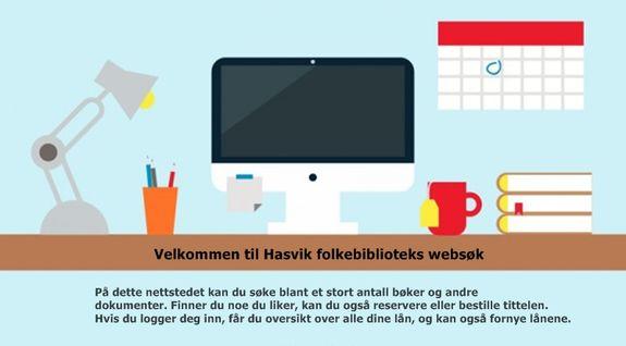 Websøk - Hasvik folkebibliotek
