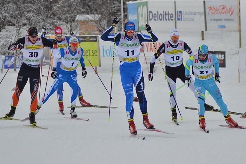 Sverige får ställa upp med många åkare under världscupen i Stockholm och Falun. FOTO: Längd.se.