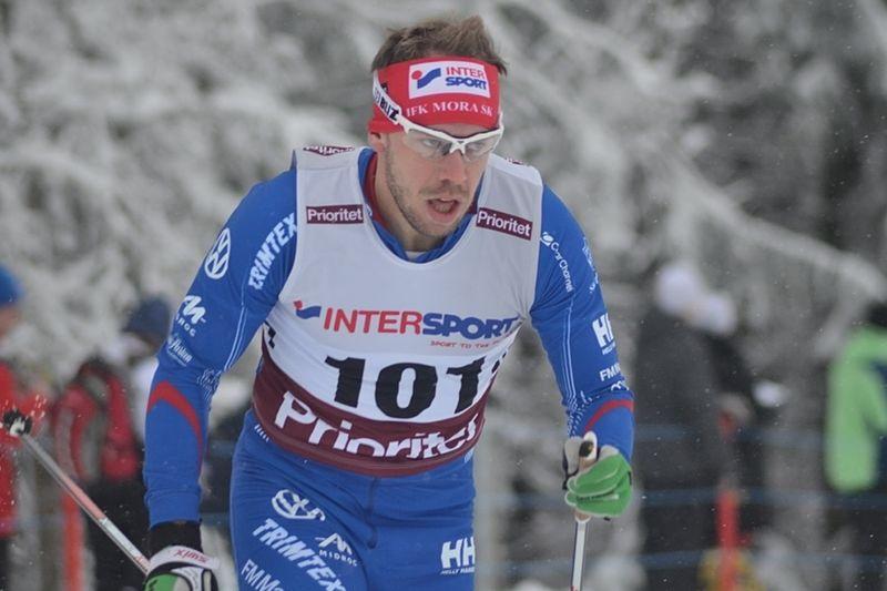 Emil Jönsson missar SM i Piteå på grund av problem med luftrören. FOTO: IFK Mora SK.