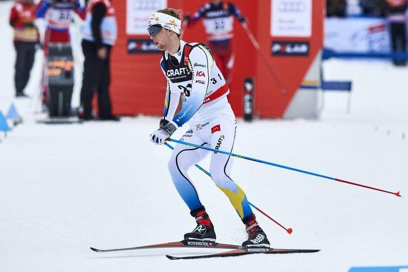 Carl Quicklund avslutade bra för Sverige men laget blev tolva. Sämsta placeringen på tio år. FOTO: Felgenhauer/NordicFocus.