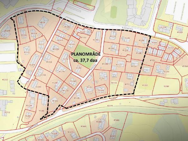 Planområde Lagård