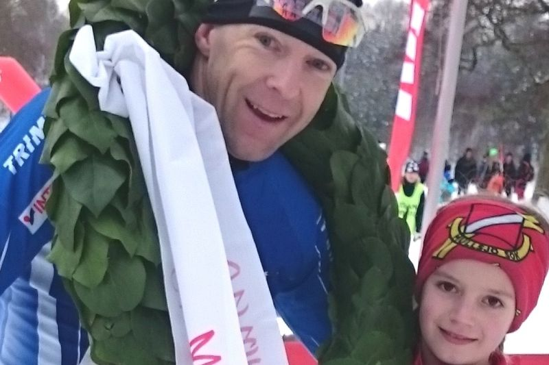 Dan Moberg vann Stråkenloppet för sjätte gången. FOTO: Mullsjö SOK.