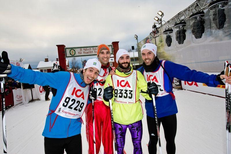 Vasaloppet startar nya loppet Öppet Spår 9 km. FOTO: Vasaloppet.