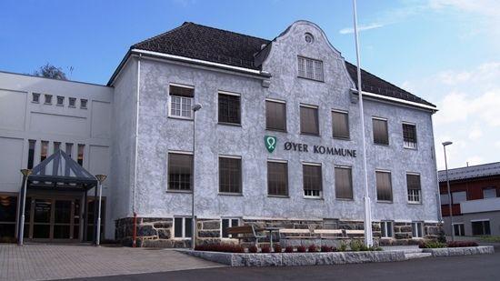 Rådhuset Øyer kommune