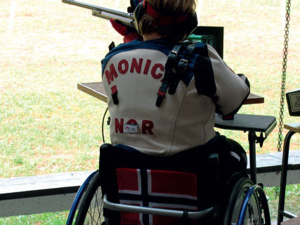 Skytter i rullestol