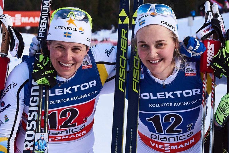 Visst är det tråkigt att de svenska sprintessen Ida Ingemarsdotter och Stina Nilsson saknas på SM-sprinten i morgon. FOTO: NordicFocus.