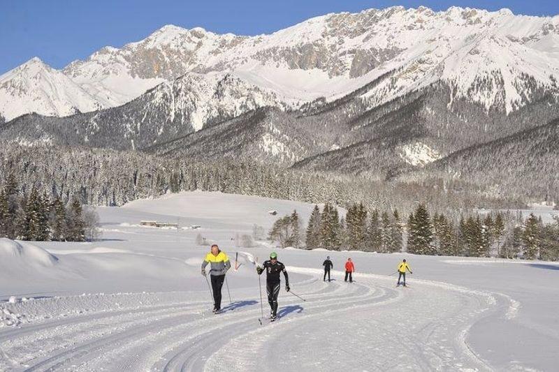 Helgens deltävling i Ski Classics flyttas till Seefeld. FOTO: Visma Ski Classics.