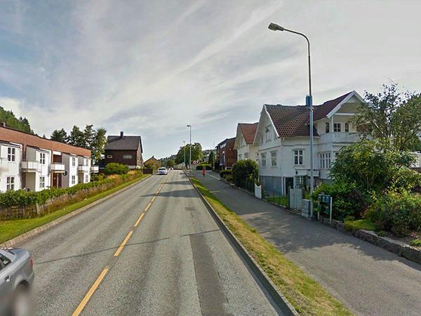 Sokndalsveien i Egersund