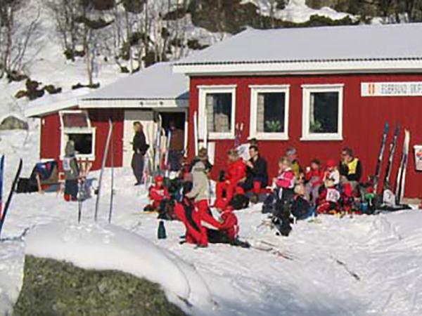Skitur til Mydland